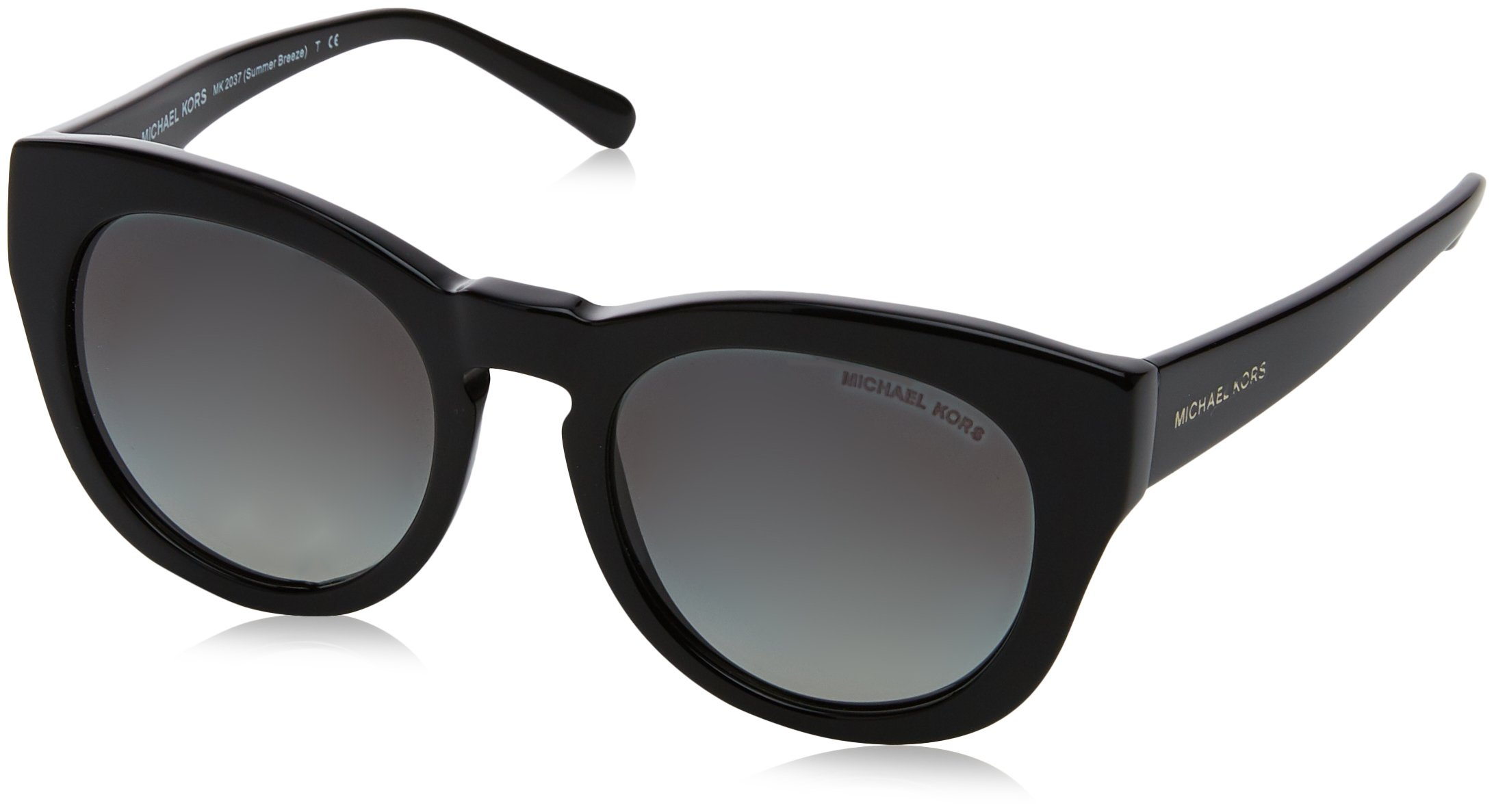 Michael Kors Summer breeze MK2037 317711 (Shiny Black with Grey Gradient lenses)