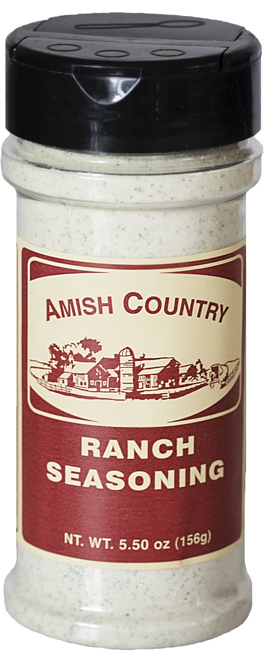 Amish Country Popcorn - Ranch Popcorn Seasoning (5.5 Ounces) Old Fashioned with Recipe Guide