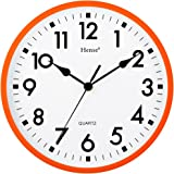 Amazon Com Water Resistant Wall Clock With Quiet Sweep
