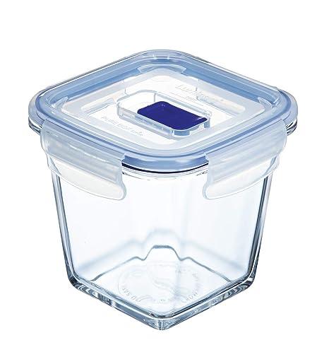 Luminarc Pure Box Active Recipiente HERMETICO Cuadrado Alto Vidrio ...