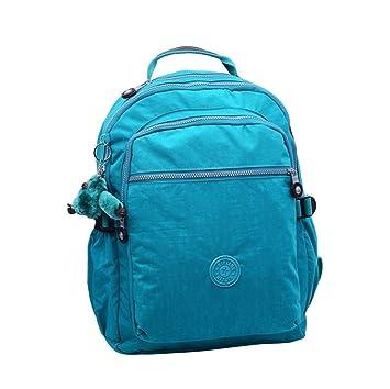 Caliente vender bolsa Shoudler grande seúl cielo Azul Nylon mochila mochila para portátil para estudiantes: Amazon.es: Deportes y aire libre