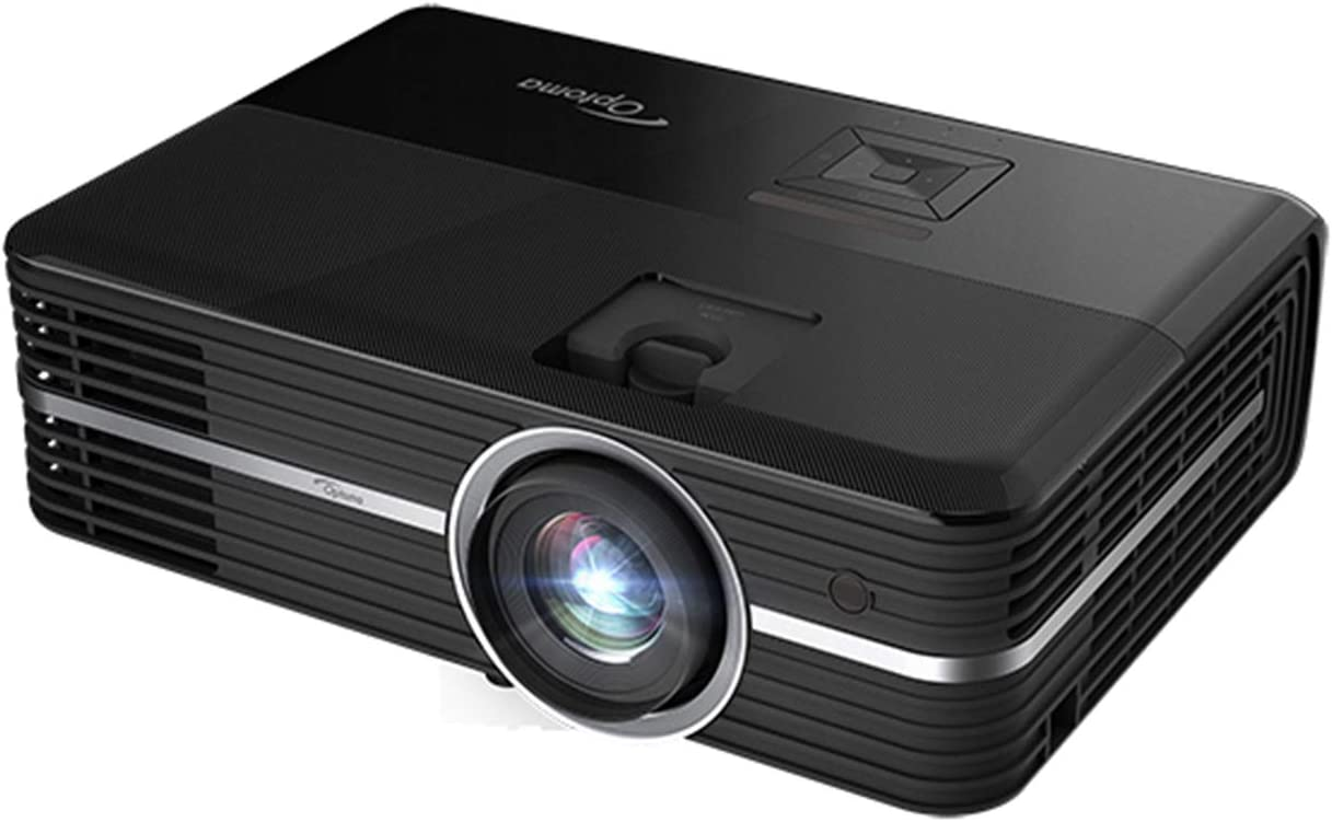 Optoma UHD51ALV True 4K UHD Smart Projector with HDR | Super Bright 3,000 Lumens | HDR10 | Works with Alexa and Google Assistant | Voice Command to Activate Projector | USB Media Streamer