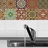 Decorative Tile Stickers, Lotu
