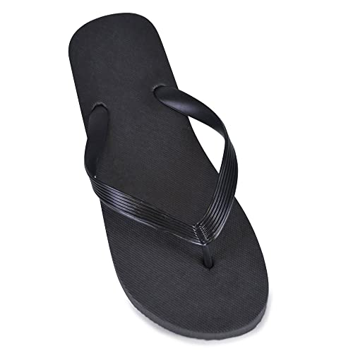 d3f1c4401 DINZIO Mens Plain Print Flip Flops  Amazon.co.uk  Shoes   Bags