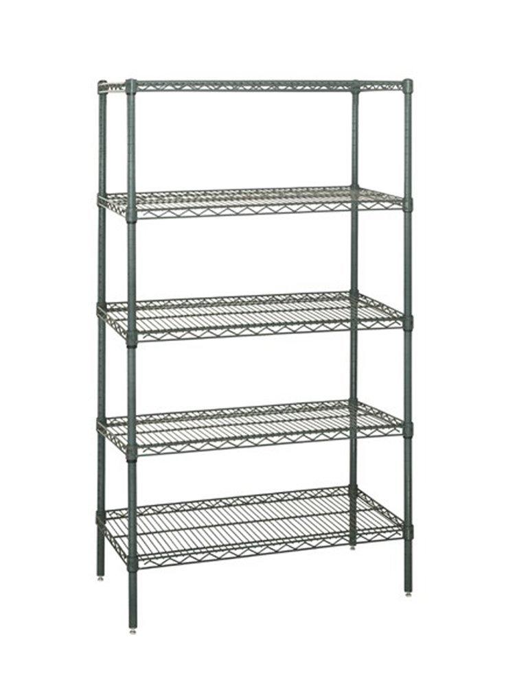 18 X 30 Wire Shelving | Amazon Com Quantum Wire Shelving 5 Shelf Starter Units Storage Rack