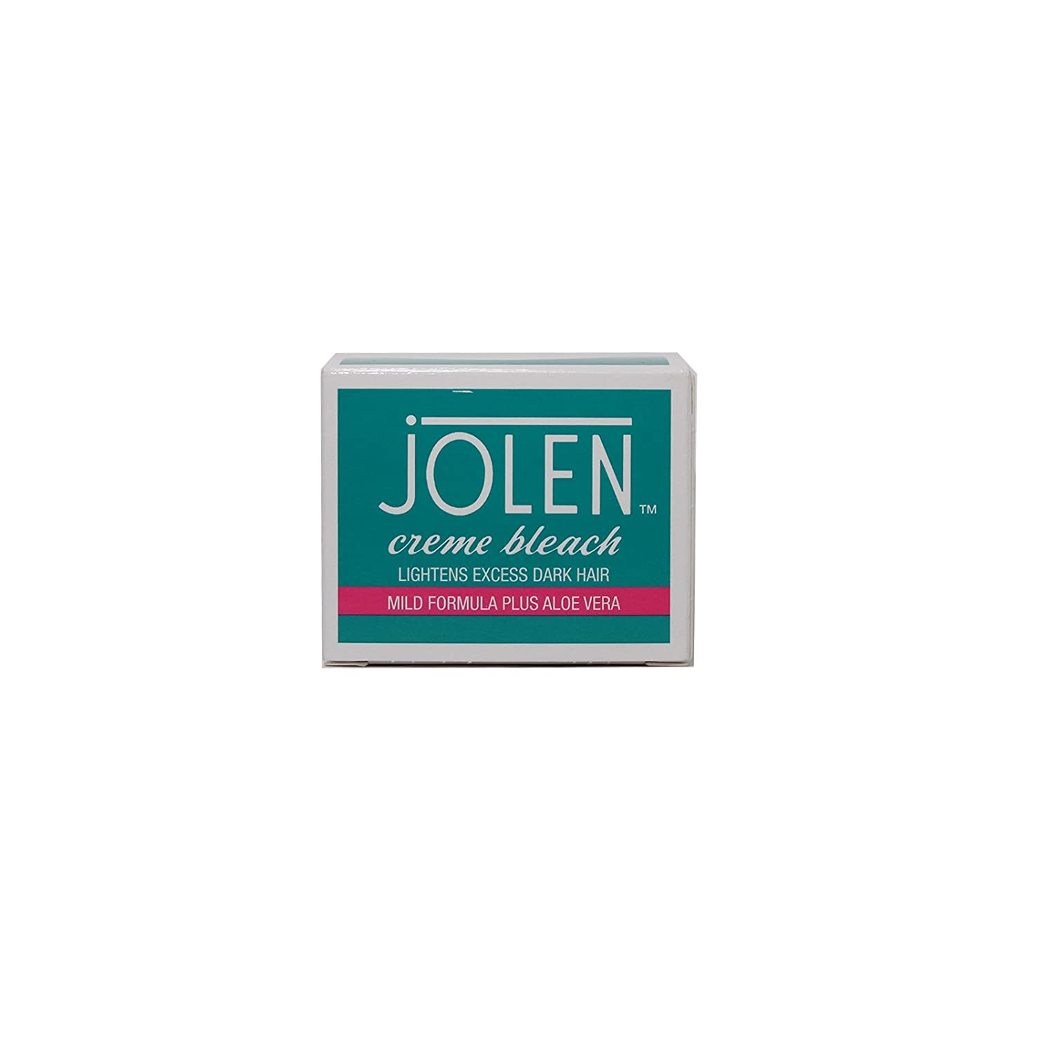 JOLEN CREME BLEACH MILD FORMULA PLUS ALOE VERA 30ML & ACCELERATOR 7G 100% GENUINE GUARANTEED