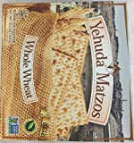 Yehuda Matzos Whole Wheat Kosher For Passover 10.5 oz. Pack of 3.