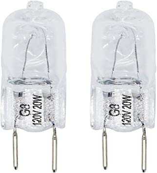 Replaces WB08X10050 AP4380308 PS2351821 PACK OF 3 Exact Fit For General Electric /& Kenmore Microwaves Ultra Durable WB25X10019 20W 120V Microwave Halogen Lamp Bulb Replacement part by Blue Stars