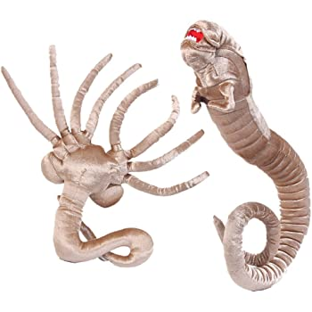Amazon Thinkgeek Alien Facehugger Plush Toy Cute And Cuddly