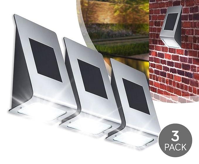 Set di senza fili led lampada solare da esterno per giardino