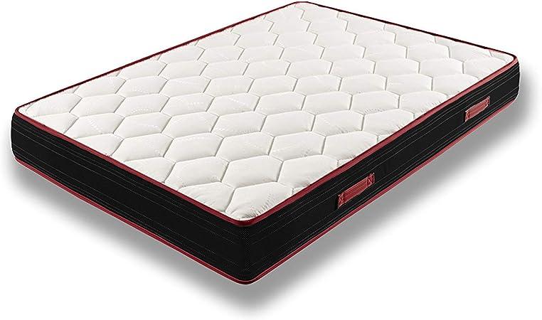 Comprar HOGAR24 Colchón Viscoelástico Reversible Memory Fresh 3D-90x190cm Talla 90x190