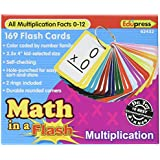 Edupress Math in a Flash Cards, Multiplication (EP62432)