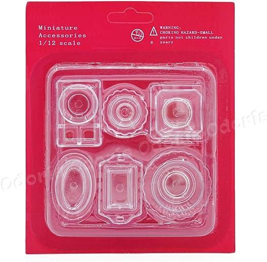 Odoria 1//12 Miniature 6PCS Livre D/écoration de Maison de Poup/ée
