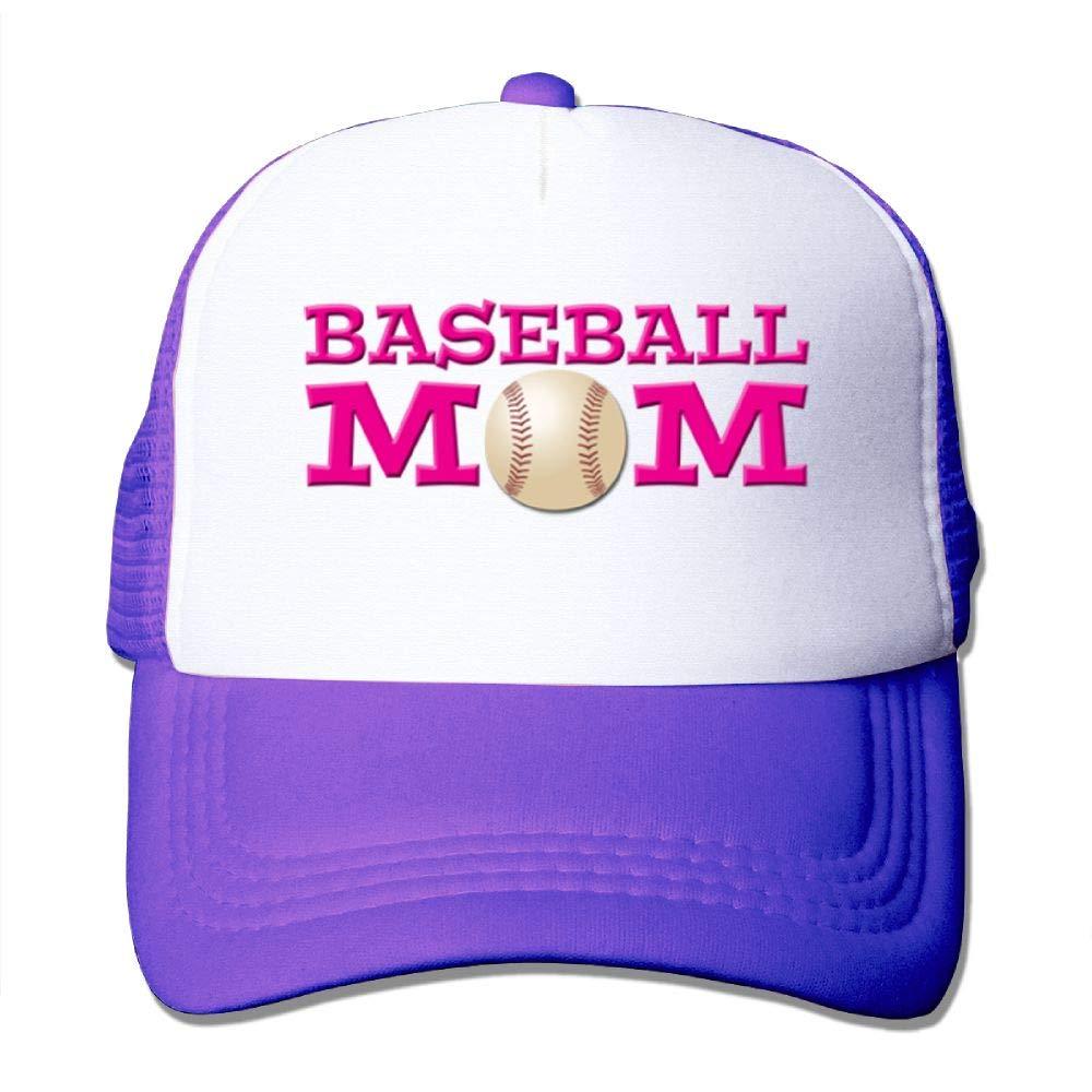 BUSEOTR Baseball Mom1 Baseball Caps Adjustable Back Strap Flat Hat