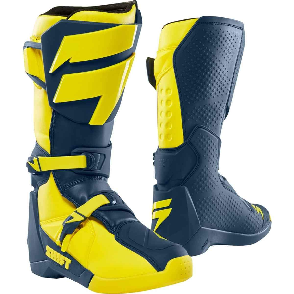 YELLOW//NAVY 11 Shift 2019 White Label Boots