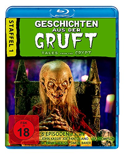 Tales from the Crypt - Season 1 (6 Episodes) ( Tales from the Crypt - Season One ) [ Blu-Ray, Reg.A/B/C Import - Germany ] (Tales From The Crypt Series Blu Ray)