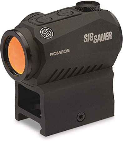 Sig Sauer Romeo5 1x20mm Compact 2 MOA Red Dot Sight