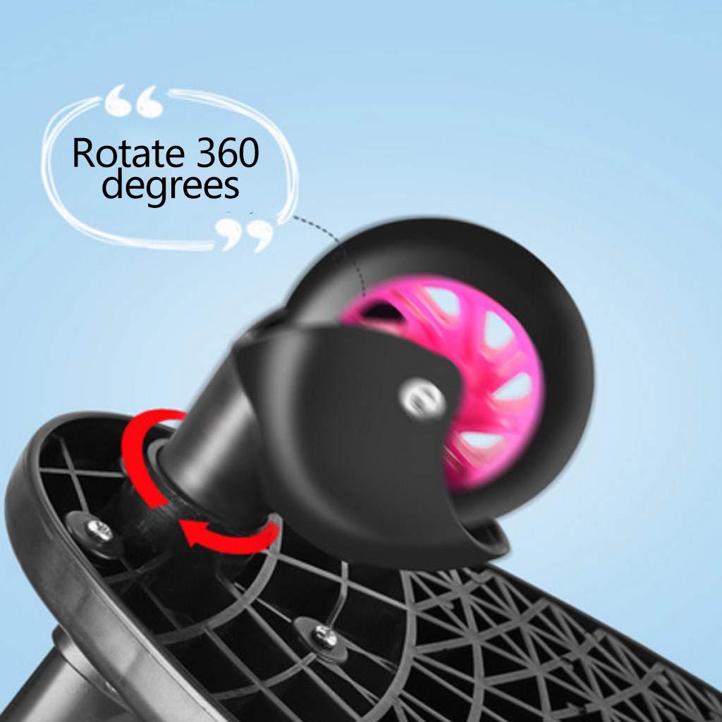 Manyo Marche Pied pour Poussette Universelle Mini Buggy Board Roue /à 360 /° Planche Poussette P/édale Pliable Noir
