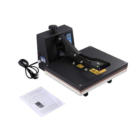 Funnyrunstore 40 x 50 cm Máquina de prensa de calor plano de ...