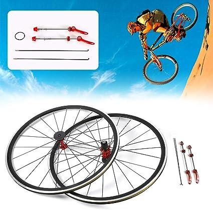 700C Road Bike Bicycle Front Rear 7//8//9//10//11Speed Wheel Set Rim Brake C//V USA