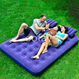 OOFAY Mobile Air Cushion Camping Air Cushion Air Cushion Home Resting Sofa, Comfortable Environment And Two Pillows For Travel And Sleep Breaks