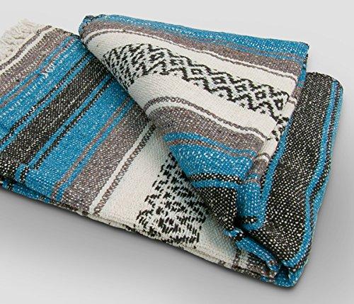 Yoga mexicano manta - bonito, brillante y cómodo manta ...