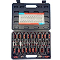 Mainstayae Connector Release Electrical Terminal Removal Tool Kit Set Auto Repair Tools ZX001 23pcs