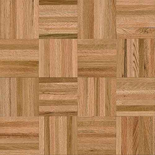 Bruce American Home 5/16 in. Thick x 12 in. Wide x 12 in. Length Natural Oak Parquet Hardwood Flooring