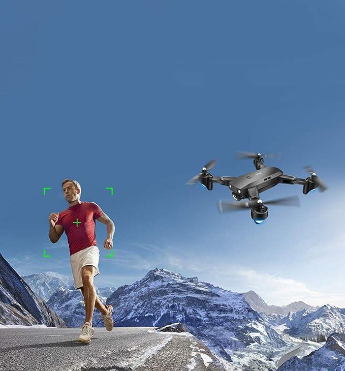 GRF Plegable GPS Drone Cámara Aérea HD Profesional De Larga Vida ...