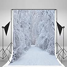 5x7ft Kate Holiday White Snow Backdrop Photography White Frozen Tree Winter Background For Children Photo Backdrops christmas backdrops