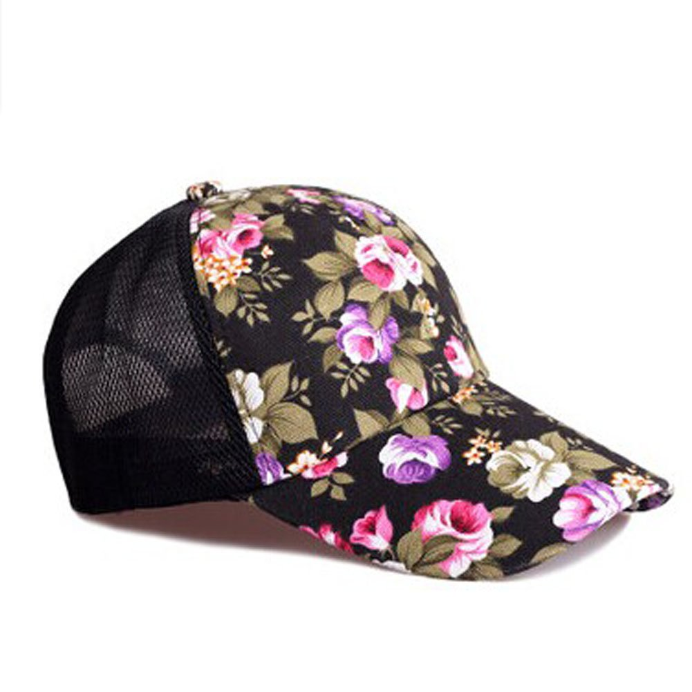 Duck Tongue Han Style Hat Mesh Hat Lady's Sun Hat Baseball Cap black PANDA SUPERSTORE PS-SPO374749011-AMIEE00112