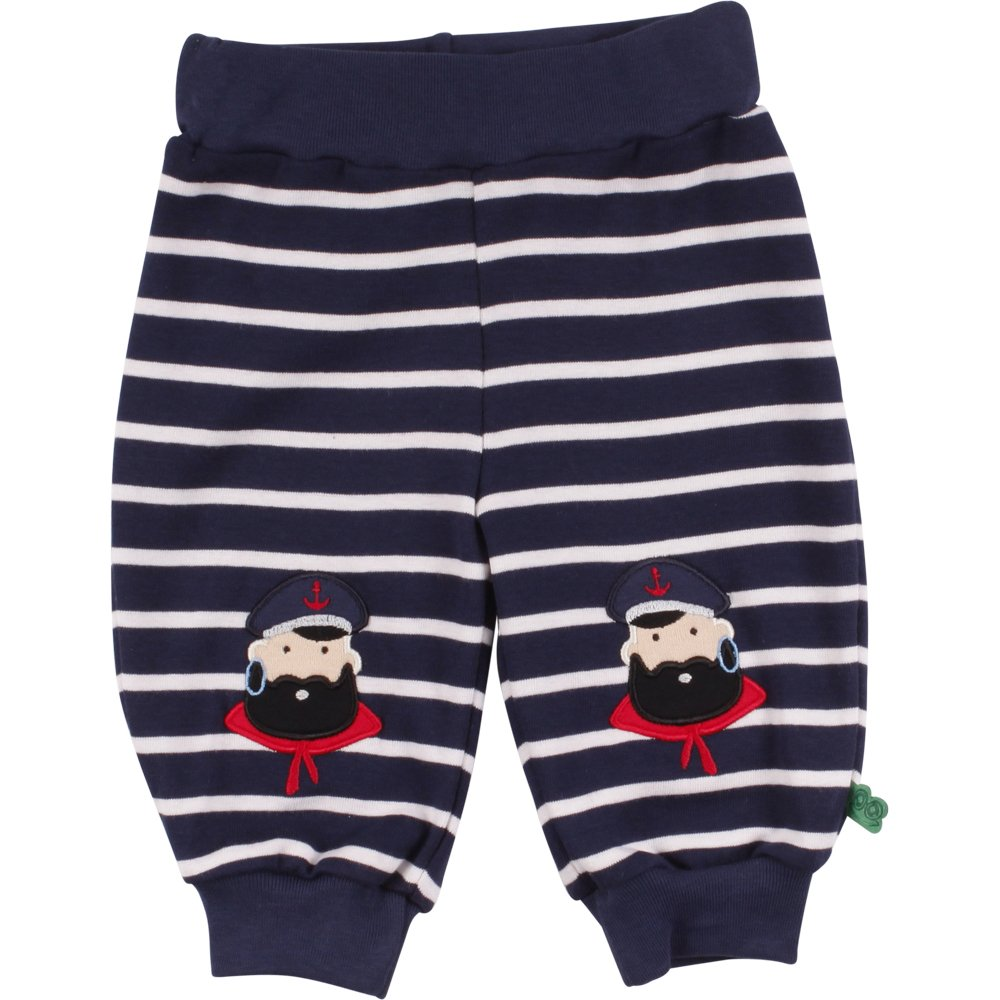 Freds World by Green Cotton Baby-Jungen Stripe Captain Pants Hose