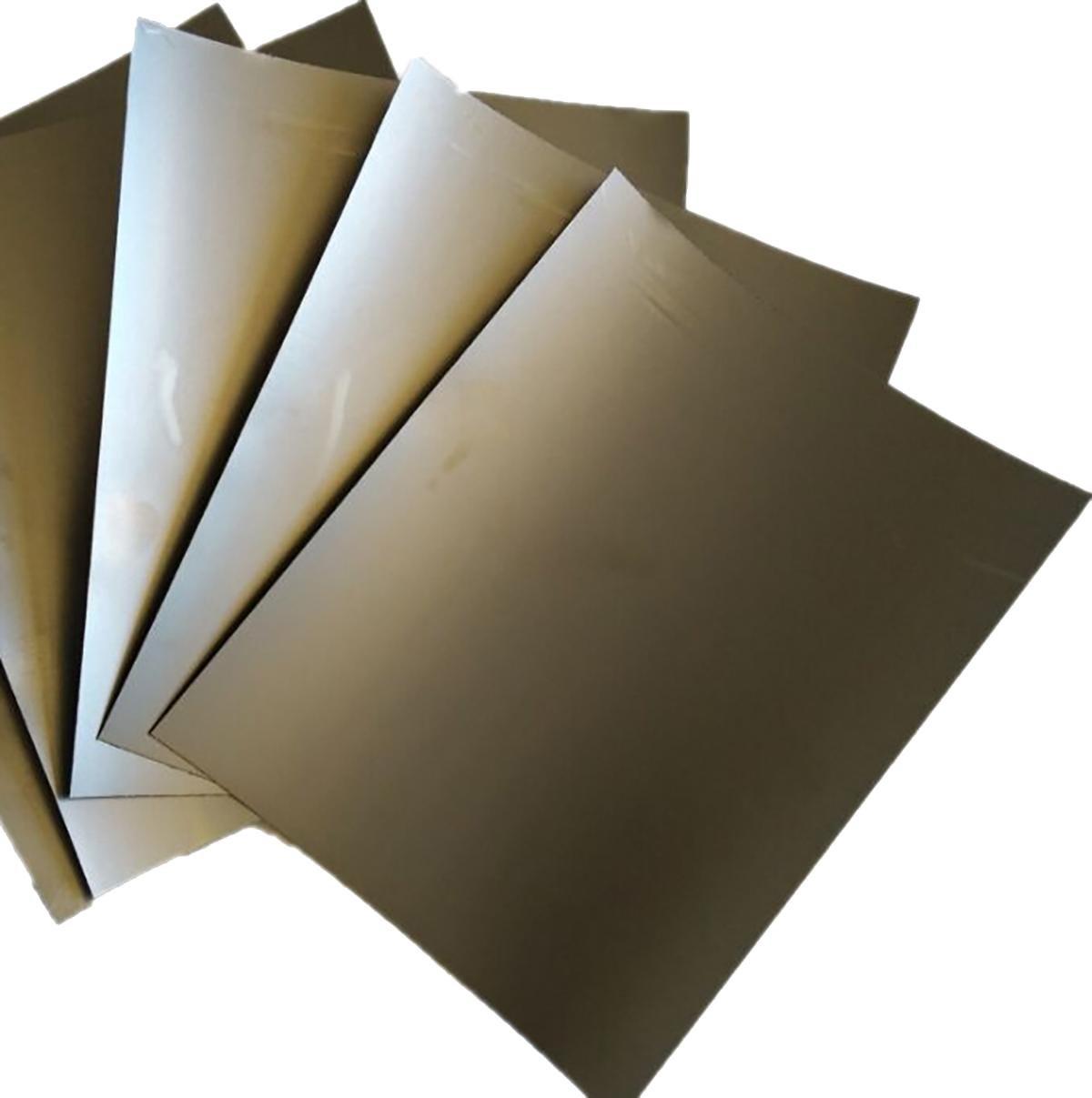 5pcs 0.05mm x 200mm x 250mm 99.5% Graphite Flexible Foil Gasket Sheet by CGjiogujio