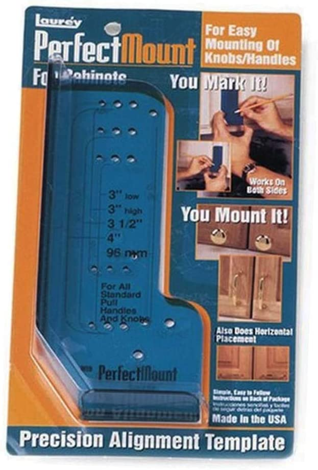 Pack of 1 Mount Precision Allignment Template for Cabinet Hardware