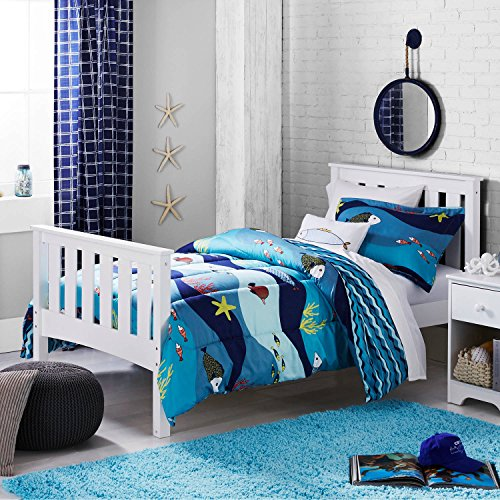 - Better Homes and Gardens Kids Sealife For Girls Bedding ( TWIN) Comforter Set