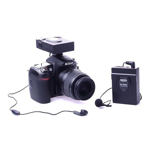 12 opinioni per Boya by-wm560m gamma di funzionamento wireless microfono per videocamera e