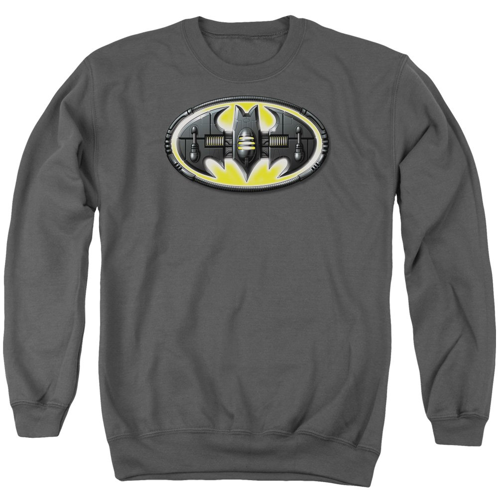 MMM Merchandising Batman Mens Bat Mech Logo Sweater