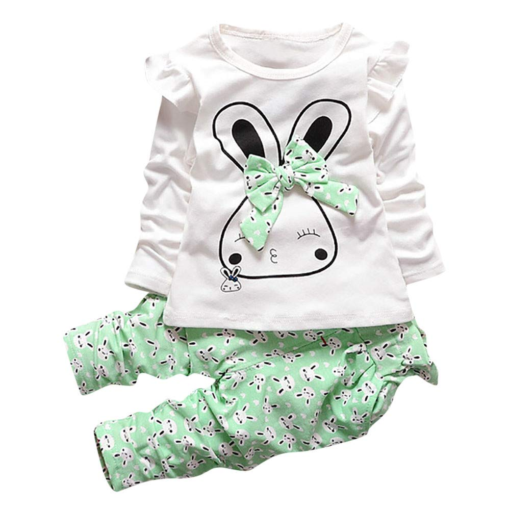 OCEAN-STORE Toddler Kids Baby Girls 6 Months-4T Clothes Tops Pants Outfits