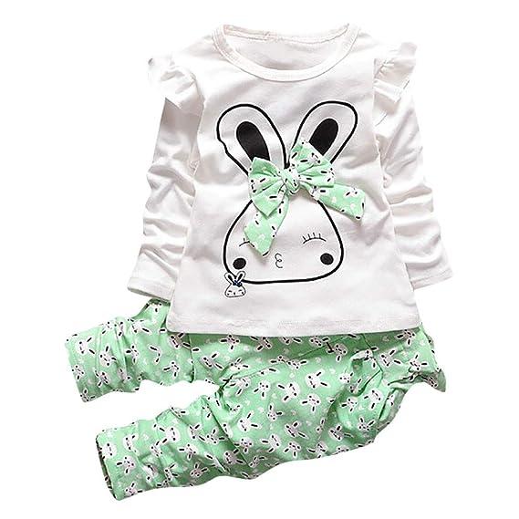Ropa Bebé Recién Nacido, Camisas de Dibujos Animados Bunny ...