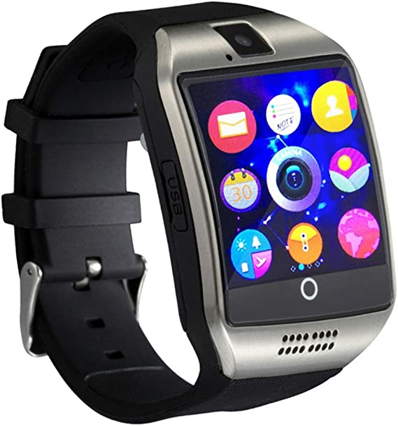 Bluetooth Smart Watch Men Q18 With Touch Screen Big Battery