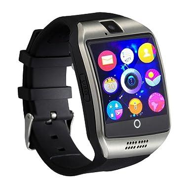 Ablebro 1.54 pulgadas bluetooth Smartwatch Q18 reloj de pulsera soporte NFC Cámara TF tarjeta Reloj Inteligente