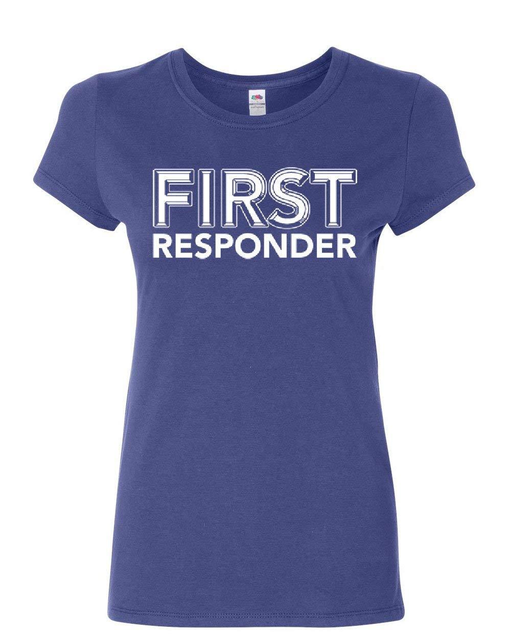 First Responder Tshirt Emergency Service Emt Police Firefighter Shirt