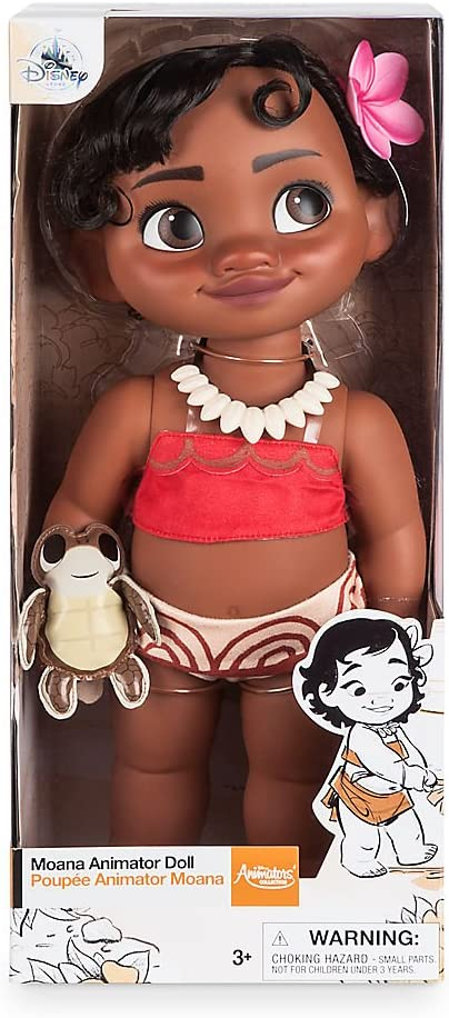 """Animator Collection Moana Doll 16/"""" Disney Store Authentic NEW"""