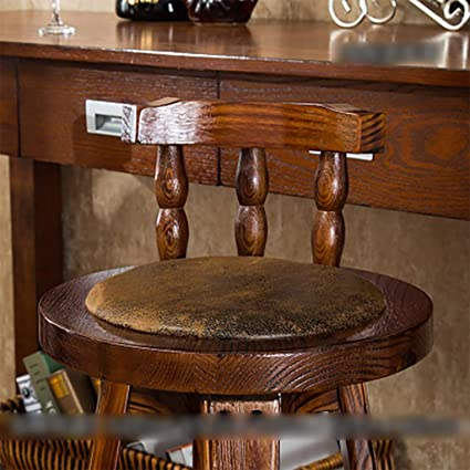 Excellent Amazon Com Gjd Stool Chair Bar Stool Bar Chair Solid Wood Gmtry Best Dining Table And Chair Ideas Images Gmtryco