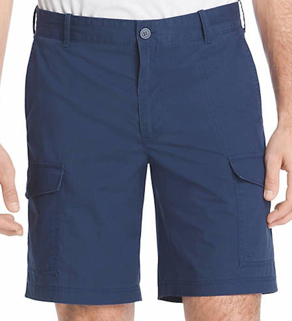 Izod Men's Flat Front Poplin Short 82SH172