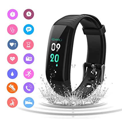 Smart Watches Wearable Devices Hd Full Touch Waterproof Ip67 With Heart Rate Monitoring Motion Monitoring Sports Watch Bracelet For Android And Ios Phones