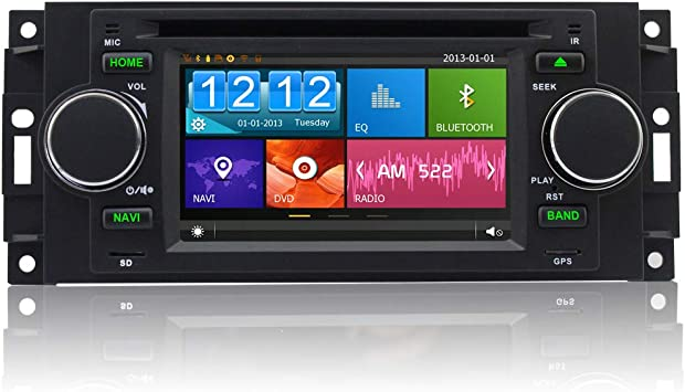 Amazon.com: ASURE - Radio estéreo para coche con GPS Navi ...