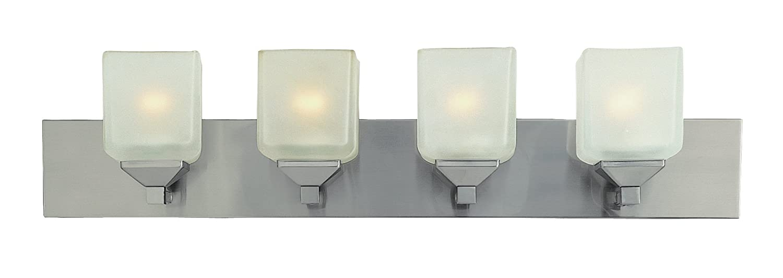 Trans Globe照明pl-2804 PWエドワーズContemporary Vanityバー、30、