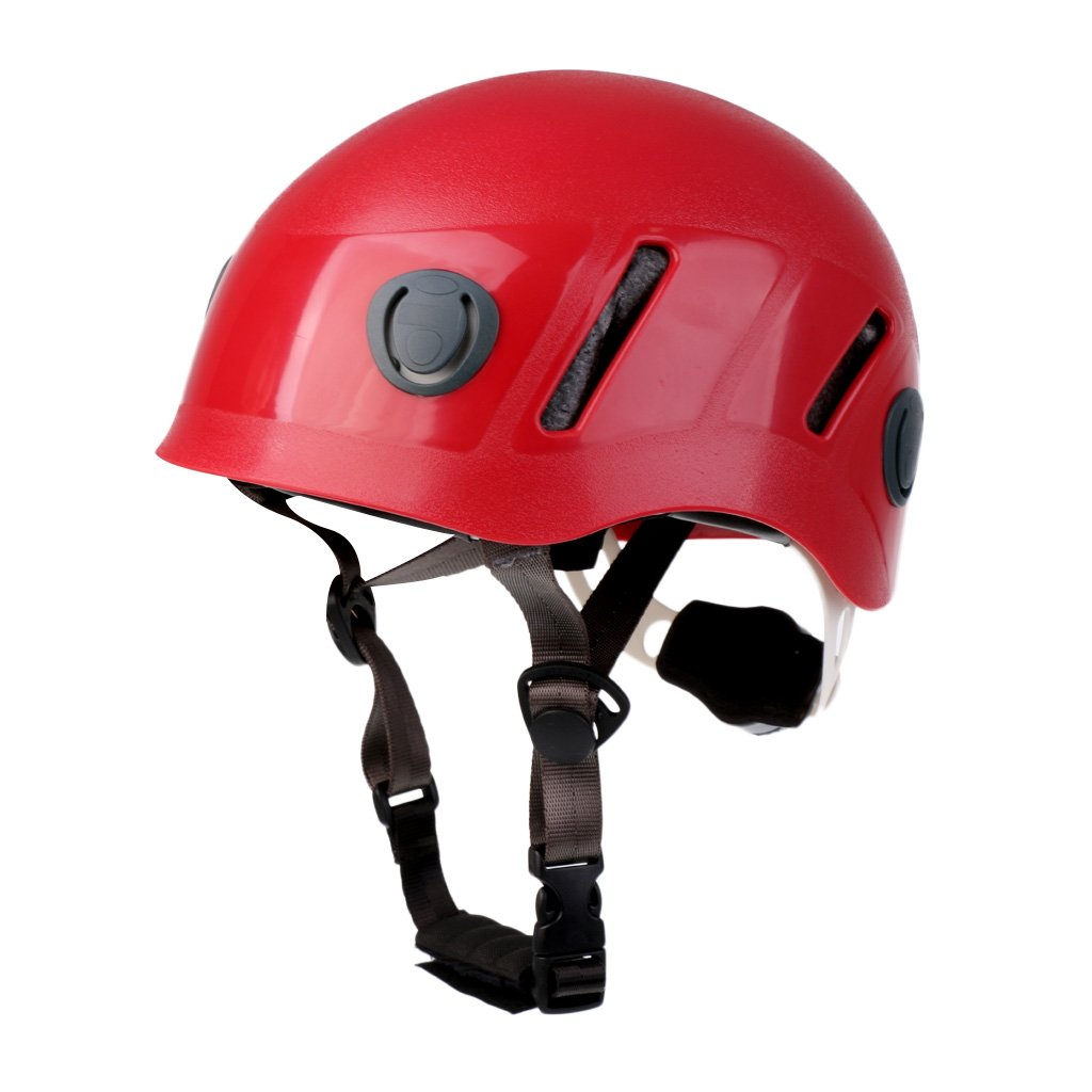 MagiDeal Professional Climbing Hard Hat Helmet Caving Rescue Head Protector for Kids