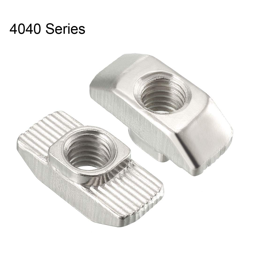 M5 Half Round Roll in T-Nut for 2020 Series Aluminum Extrusion Profile Carbon Steel Nickel-Plated Pack of 20 uxcell Sliding T Slot Nuts